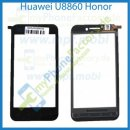 Huawei U8860 Honor Scheibe Digitizer Touch Displayglas Schwarz, Neu