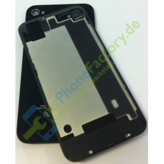 iPhone 4S Backcover schwarz black